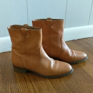 J. Crew Dix Tab Ankle Boots